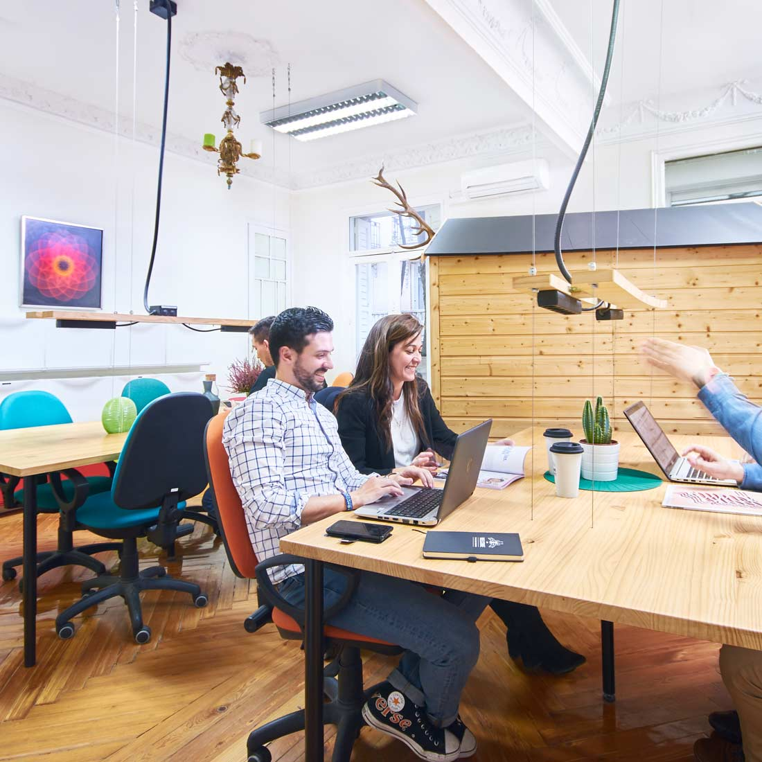 sala alce the shed coworking madrid